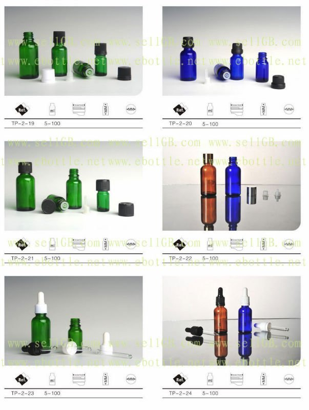TP-1 Supply 50ml Glass Bottles