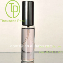 TP-3-09-2 15ml Perfume glass bottle with sprayer and cap