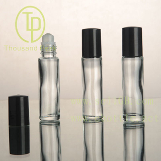 TP-3 Supply 15ml clear Roll On Bottle