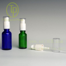 TP-2-28 glass essential oil bottle with pressure pump