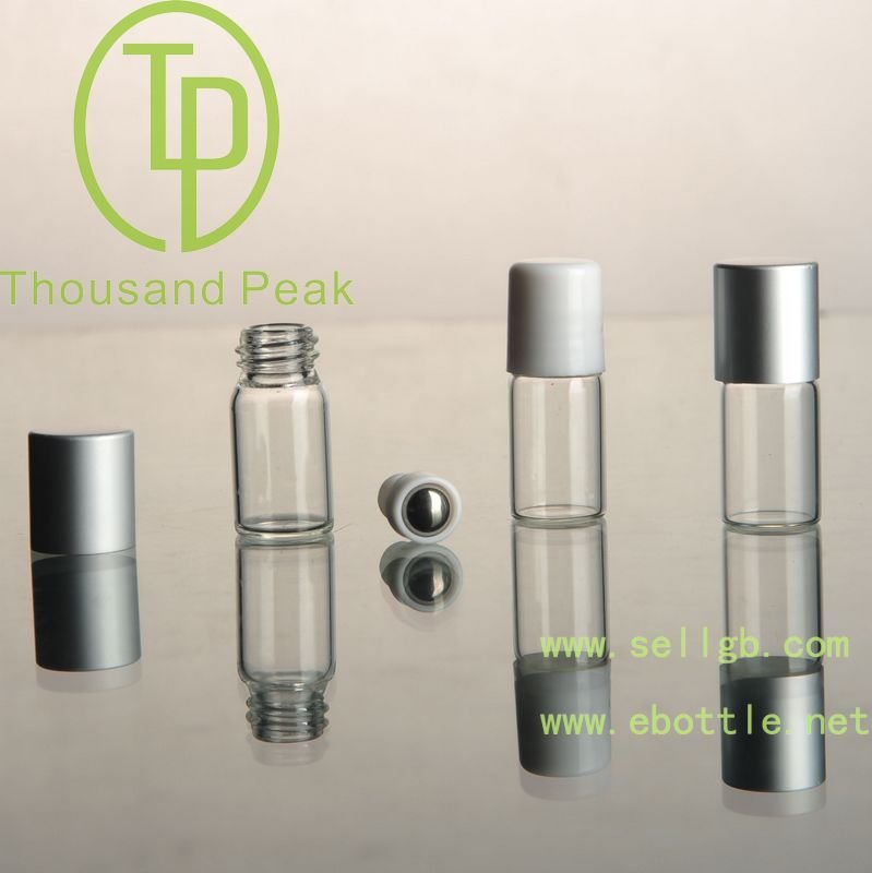 1.5ml 2ml mini glass perfumer bottle, high quality perfume tester,spring outside