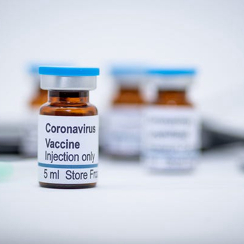 Vaccine bottle for COVID-19