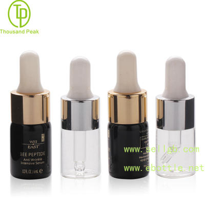 Black color 6ml cosmetic glass dropper bottle.jpg