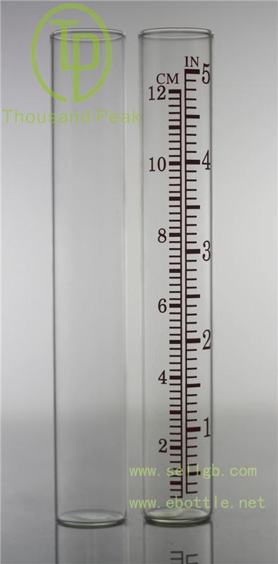 Free Shipping Glass Rain Gauge with high quality