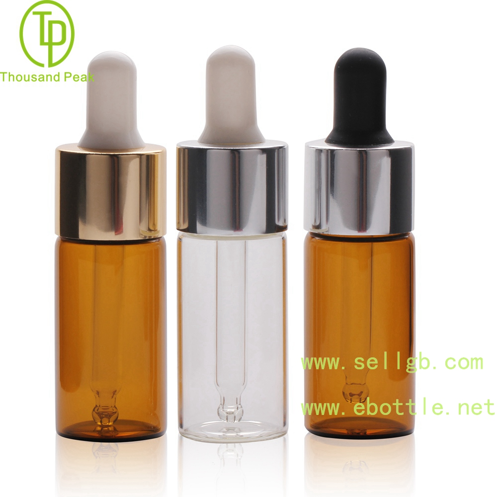 TP-2-149 15ml cosmetic glass dropper bottle 20-410 neck